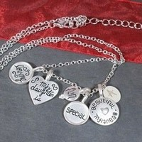 Engraved Special Daughter Gift Necklace