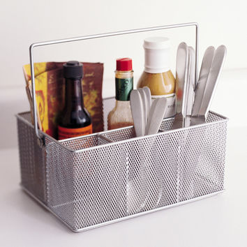 Mesh Condiment Caddy by Design Ideas