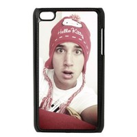 The Janoskians Custom Case for iPod Touch 4, VICustom iTouch 4 Protective Cover(Black&White) - Retail Packaging