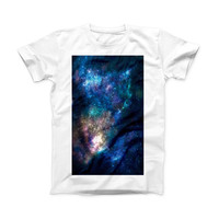 The Vector Space ink-Fuzed Front Spot Graphic Unisex Soft-Fitted Tee Shirt