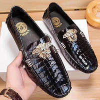 Boys & Men Versace Fashion Casual Flats Shoes
