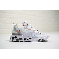 Off White X Nike Upcoming React Element 87 Aq0068 100   Best Deal Online