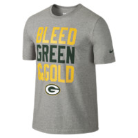 "Nike ""Bleed Green Gold"" (NFL Packers) Men's T-Shirt"