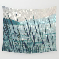 Afternoon at the Lake Wall Tapestry by LJehle Photography