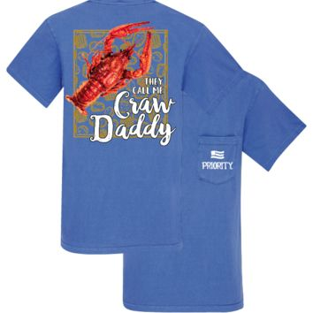 Southern Couture Priority Classic Craw Daddy Pocket Unisex T-Shirt