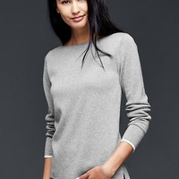 Gap Boatneck Trim Pullover Sweater