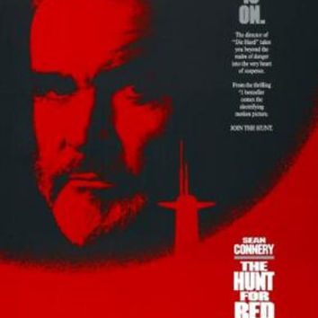 Hunt For Red October Movie Poster 11x17 Mini Poster