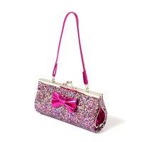 Kids Glitter Purse with Bow