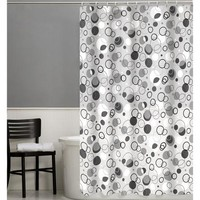 Maytex Ring Toss 13-Piece PEVA Shower Curtain Set - Walmart.com