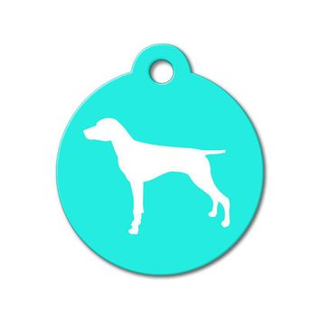 German Shorthaired Pointer - Silhouette Pet Tag