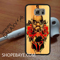 Star Wars Roses Tatto in Wood For galaxy S6, Iphone 4/4s, iPhone 5/5s, iPhone 5C, iphone 6/6 plus, ipad,ipod,galaxy case