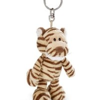 NICI Wild Friends Tiger Bean Bag Key Holder 4""