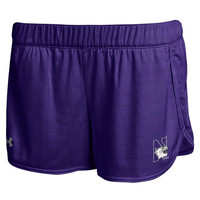 Northwestern Wildcats Under Armour Women's Performance Mesh Shorts – Purple