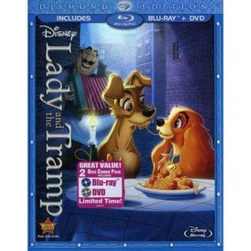 Lady and the Tramp (Disney) (Bluray+dvd)