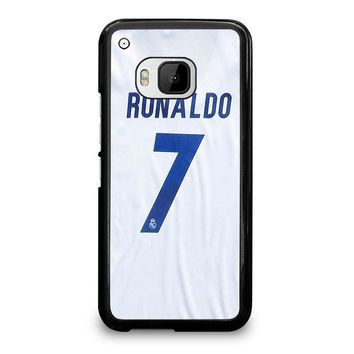RONALDO CR7 JERSEY REAL MADRID HTC One M9 Case Cover
