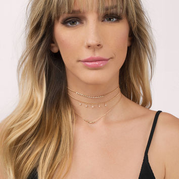 Courtney Layered Choker Necklace