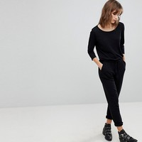 JDY Relaxed 3/4 Sleeve Jumpsuit at asos.com