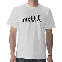 Evolution of Baseball Tees from Zazzle.com