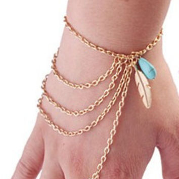 Levels to Feathers Bracelet