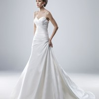 Wholesale A Line Sweetheart Floor Length Ruched Bodice Gown with Taffeta Mandy for $185.00 from China : IndeedBuyer.com.  - IndeedBuy