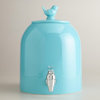 Aqua Bird Ceramic Drink Dispenser