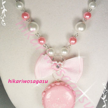 Macaron Pearl Necklaces