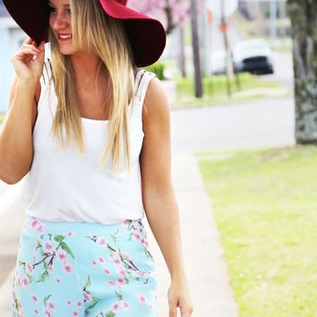 Derby Floppy Hat {MORE COLORS AVAILABLE}