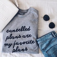 Cancelled Plans Tee