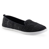 Aeropostale  Lace Slip-On - Black,