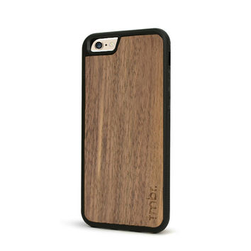 Wood iPhone 6 Plus Case - Walnut Wood iPhone 6 Plus Case - SHK-W-I6P