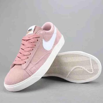 Nike Blazer Low Women Men Fashion Casual Old Skool Low-Top Shoes-2