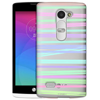 LG Tribute 2 Neon Stripes Case