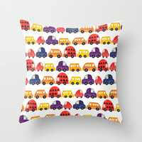 tailgate Throw Pillow by Sharon Turner