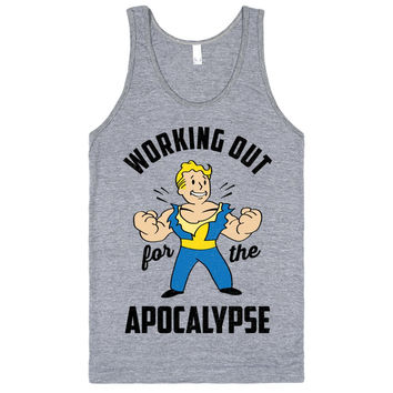 Working Out For The Apocalypse With Vault Boy