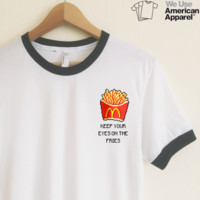 AA Camilla Eyes on the Fries Ringer Tee