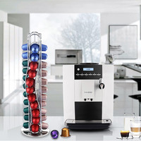 1PC 2016 New 40 Cups Iron Kitchen Organizer and Storage Plating Coffee Capsules Shelf Kitchen Accessory Rack Freeshipping H5125