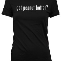 got peanut butter L.A.T Misses Cut Women's T-Shirt
