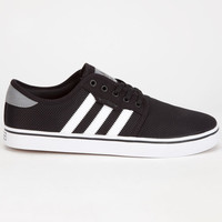Adidas Seeley Mesh Mens Shoes Black/White  In Sizes