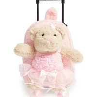 Popatu 'Trolley - Ballet Bear' Rolling Backpack (Kids) | Nordstrom
