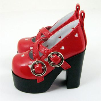 1/3 1/4 BJD  High heels PU Shoes