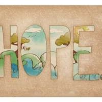 $15.00 Hope print by arian on Etsy