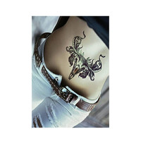 Skull Temporary Tattoo Large and Small Body Art for legs, arms, back and chest Tattoo Stickers for Men and Women