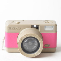 Fisheye Compact Camera in Pink by Lomography - $55.00 : ThreadSence, Women's Indie & Bohemian Clothing, Dresses, & Accessories