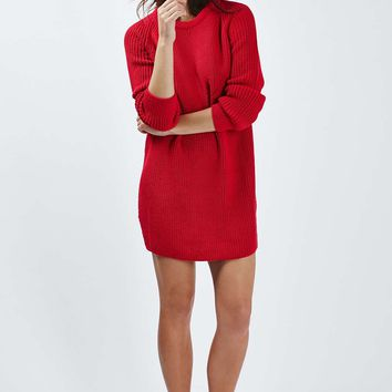Oversized Jumper Dress - Topshop