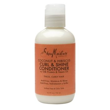 SheaMoisture Curl & Shine Conditioner Coconut & Hibiscus