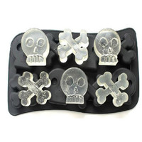 Skull Mold Silicone 3D Mold