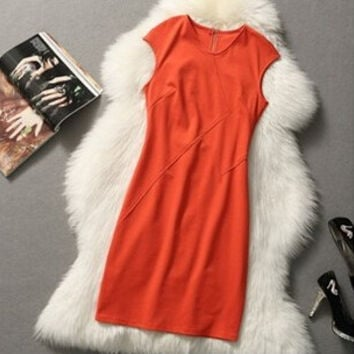 Victoria Beckham Worsted Dress
