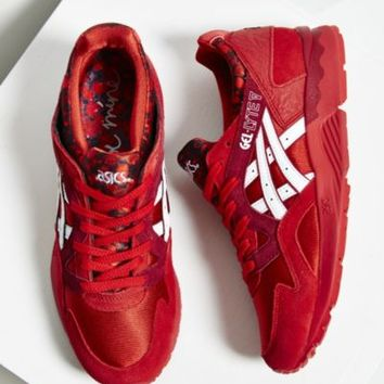 Asics Gel Lyte V Heartbreaker Pack Running Sneaker- Red