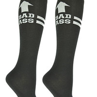 Bad Ass Derby Girl Knee Socks