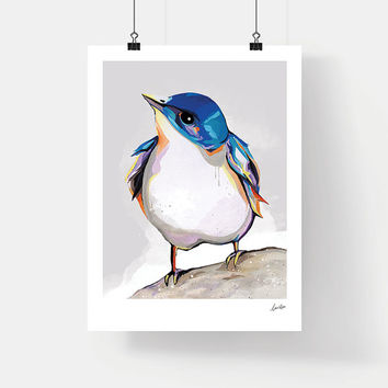 Little Bird Art Print - Poster